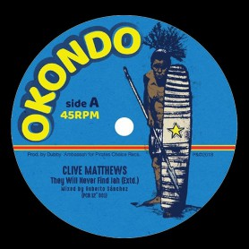 "(12"") CLIVE MATTHEWS - THEY WILL NEVER FIND JAH / JAH SOON COME"