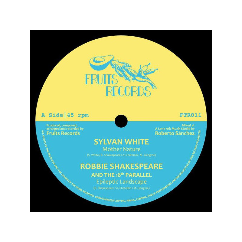 "(12"") SYLVAN WHITE - MOTHER NATURE / ROBBIE SHAKESPEARE / EARTH WARRIOR - LOVE TRIANGLE / DELROY MELODY"