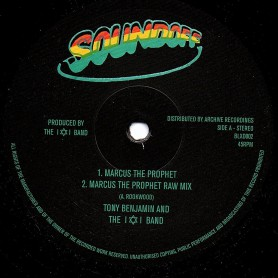 "(10"") TONY BENJAMIN AND THE I & I BAND - MARCUS THE PROPHET"