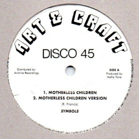 "(10"") SYMBOLS - MOTHERLESS CHILDREN / RANKING CARETAKER - NO DASH IT WAY"