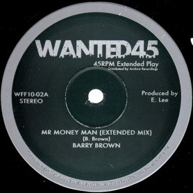 "(10"") BARRY BROWN - MR MONEY MAN / KING TUBBY & AGGROVATORS - MR MONEY MAN DUB"