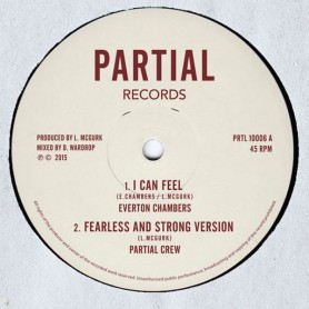 "(10"") EVERTON CHAMBERS - I CAN FEEL / S'KAYA - LOVE IS MY ARMOUR"