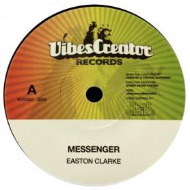 "(7"") EASTON CLARKE - MESSENGER / KINGSTEP, CRUCIAL ALPHONSO - DUB"