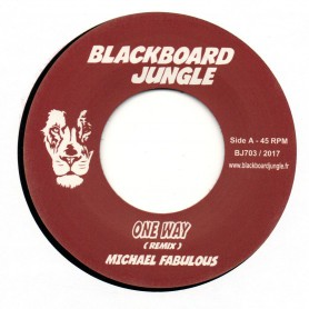 "(7"") MICHAEL FABULOUS - ONE WAY / MARSHALL NEEKO - VERSION"