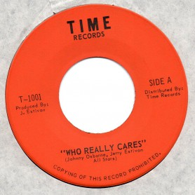 "(7"") JOHNNY OSBOURNE - WHO REALLY CARES / WHO REALLY CARES INSTRUMENTAL"